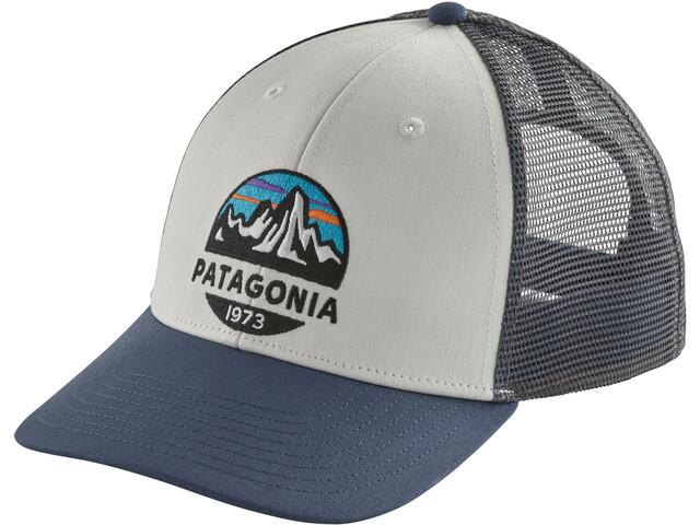 Patagonia Fitz Roy Scope LoPro Trucker Hat White
